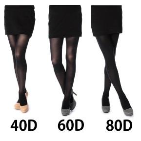 タイツ選びはデニールを意識!脚が美しく見える程良い透け感とは?
